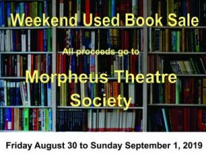 Book Sale Morpheus 30Aug19