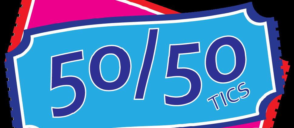50-50 Raffle Ticket